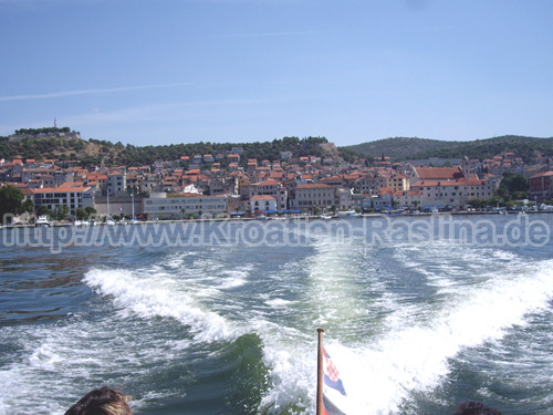 Raslina Prokljanersee Hafen